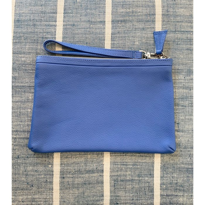 Orsyn Moyen Pouch - Blue Pebble