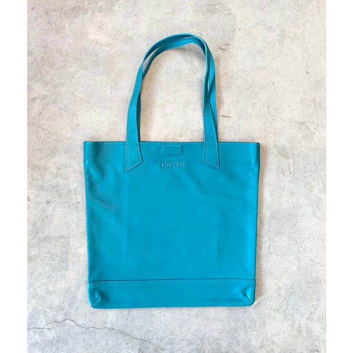 Orsyn Magazine Tote - Teal