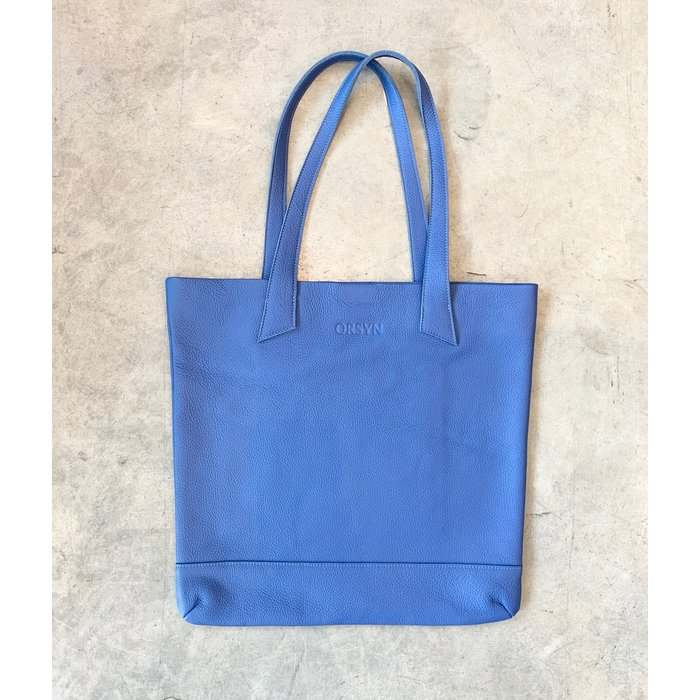 Orsyn Magazine Tote - Blue Pebble