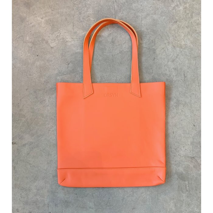 Orsyn Magazine Tote - Orange