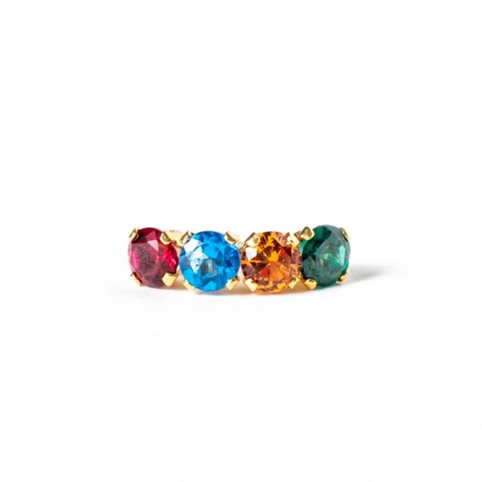 Saint Claude Rainbow Earring Single