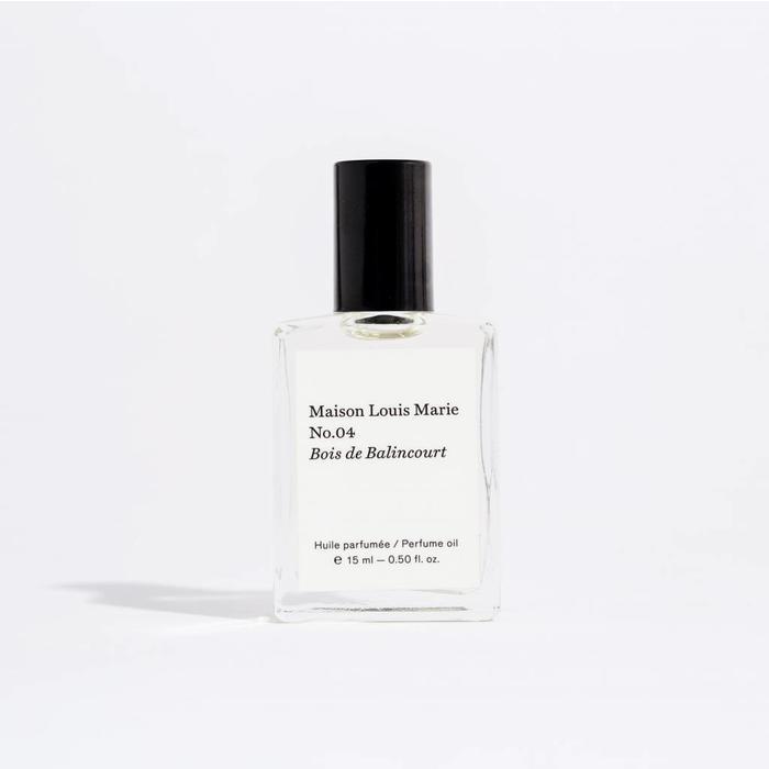 Maison Louis Marie Perfume Oil -  No. 04 Bois De Balincourt