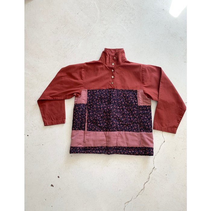 Carleen Quilted Pullover