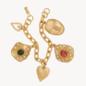 Mondo Oyster Charm Bracelet