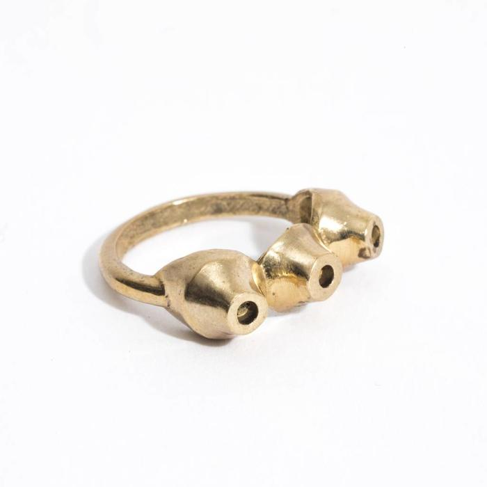 Aesa Bubbly Bronze Ring