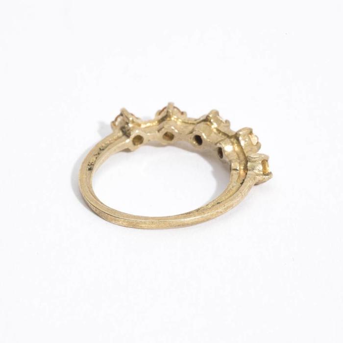 Aesa Radiant Aperture Ring - Citrine