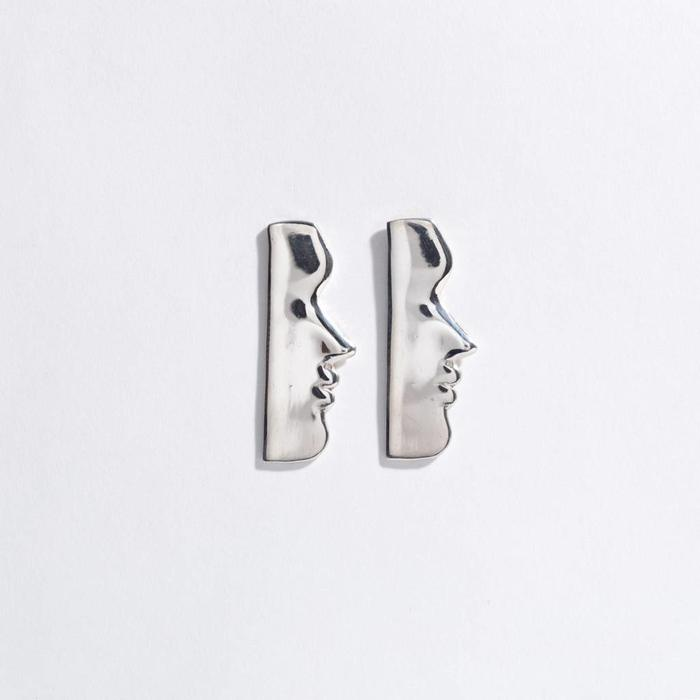 Open House Fille Earrings - Silver