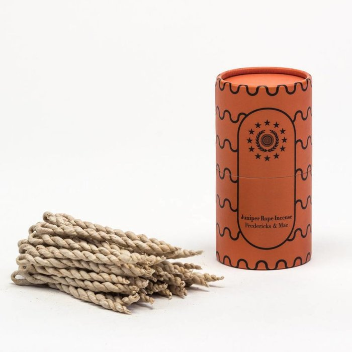 Fredericks & Mae Juniper Rope Incense