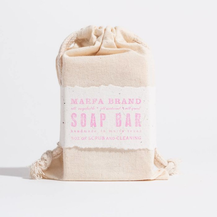 Marfa Brands Bergamot Grapefruit Soap