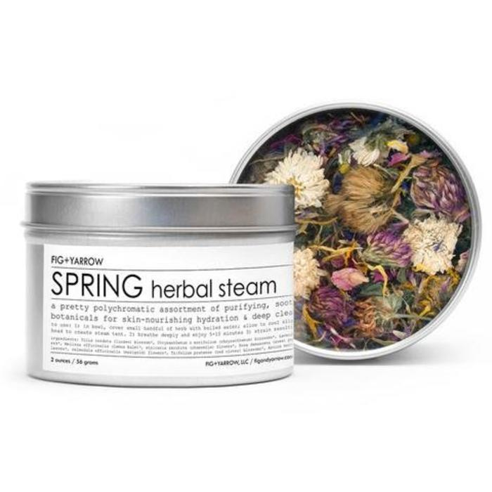 Fig & Yarrow Spring Herbal Steam