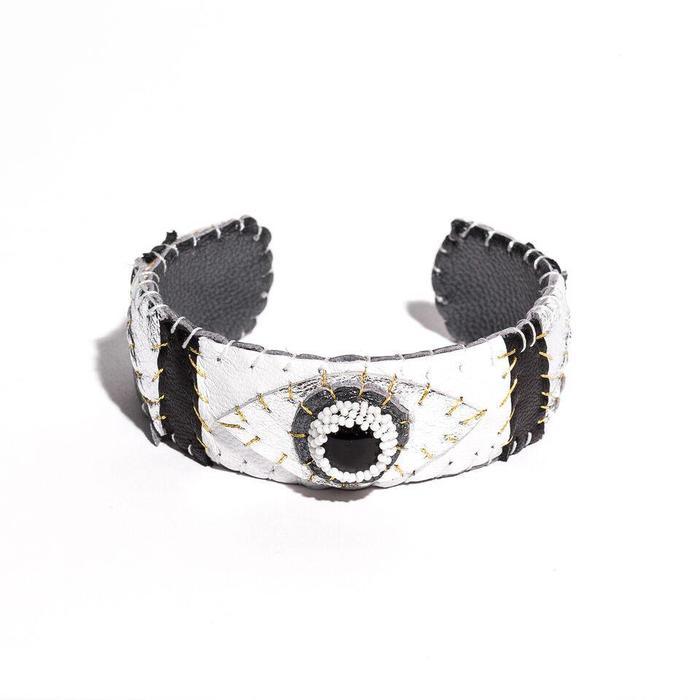 Robin Mollicone Onyx Eye Cuff