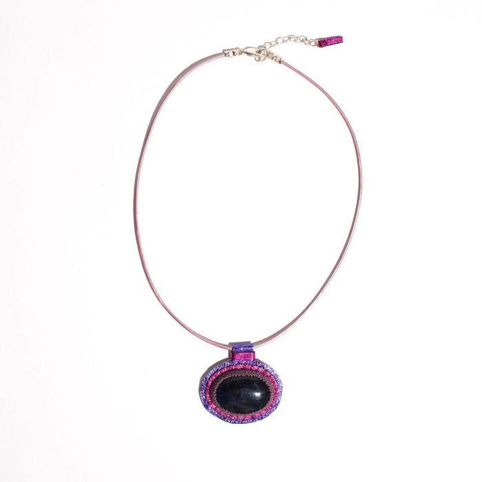 Robin Mollicone Carina Necklace with Sodalite