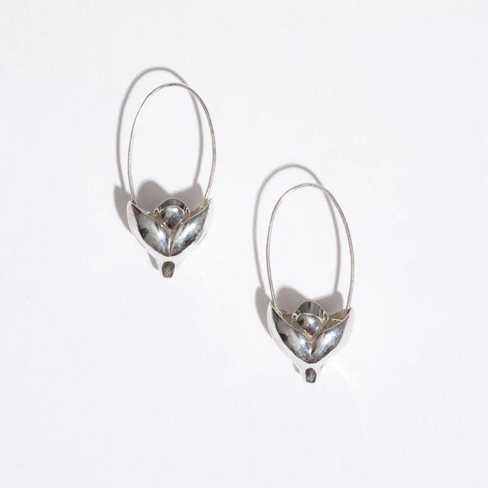 Pamela Love Lotus Earrings