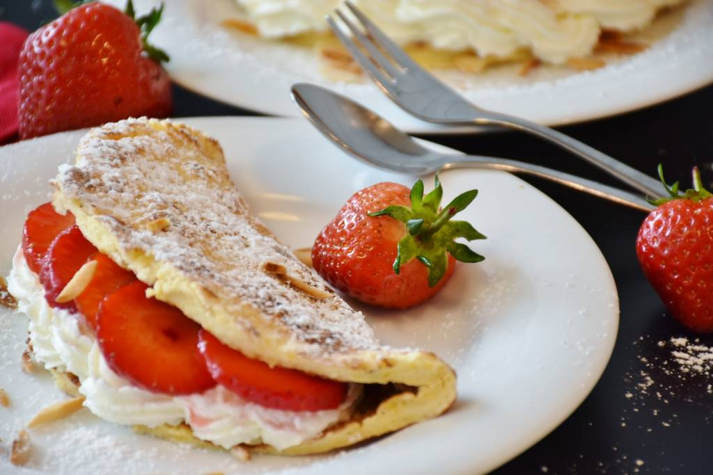Heinz Strawberries Pancake