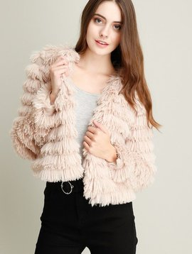 Jacket Faux Fur Jacket