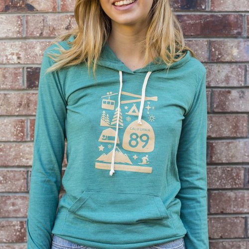 Women's Pullover Wall Graphic Women's Pullover