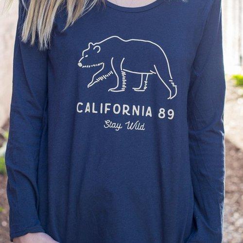 California 89 Stay Wild Women's Long Sleeve Tee