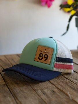 California 89 Capteur Hats - Trucker