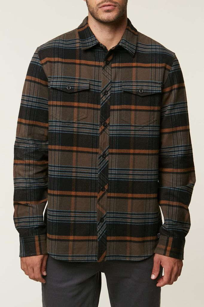 California 89  O'neill Ridgemont Men's Flannel