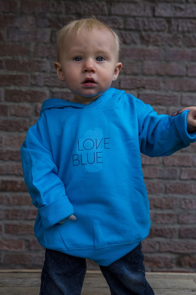 Love Blue Toddler Hoodie