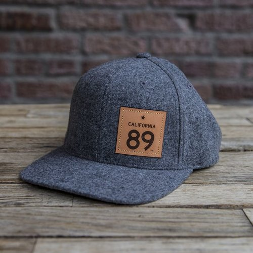 Hats Wool Capteur Flatbill Hat