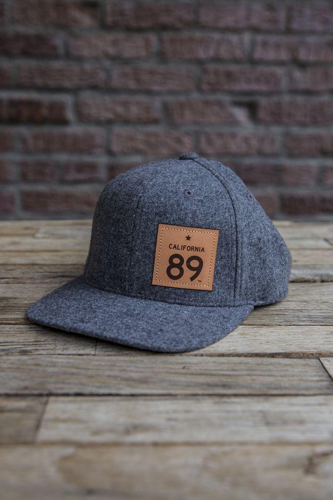 California 89 Wool Capteur Flatbill Hat