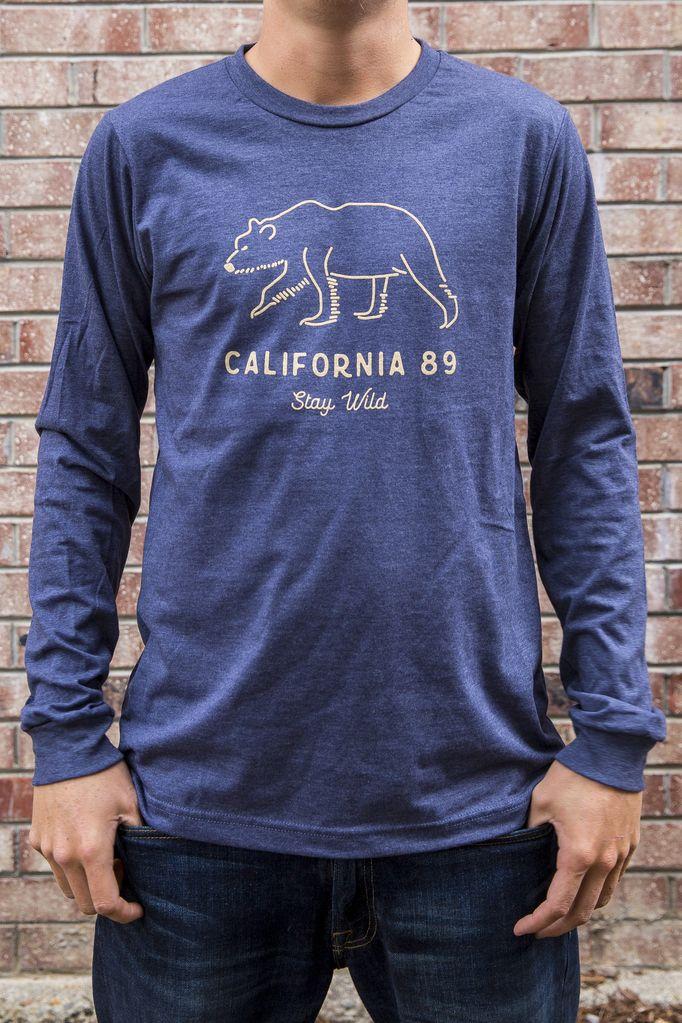 California 89 Stay Wild Men's Long Sleeve Tee