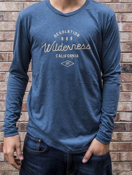 California 89 Men's long sleeve Desolation Wilderness tshirt