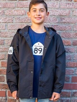 California 89 Kid's Coaches WIndbreaker