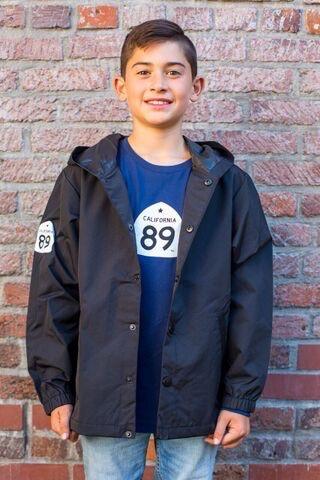 California 89 Kid's Coaches WIndbreaker