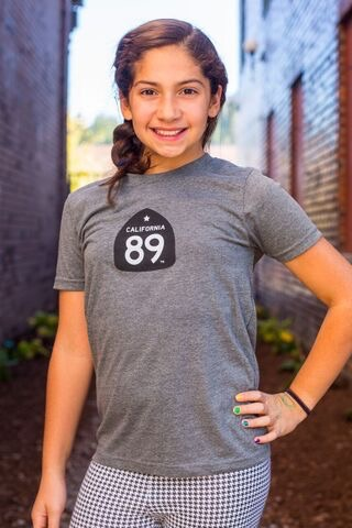 California 89 Kid's Bicycle Graphic Tee