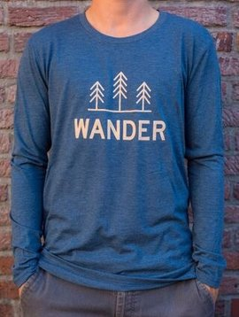 California 89 Men's Long Sleeve Wander Tee