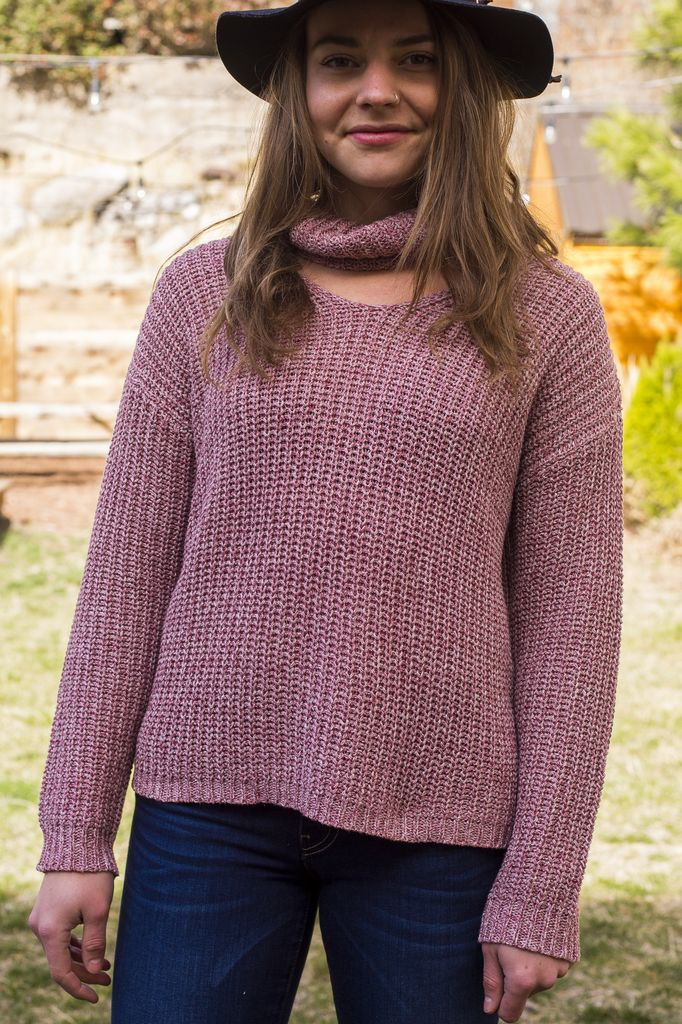 California 89 Rag Poets Danae Women's Sweater