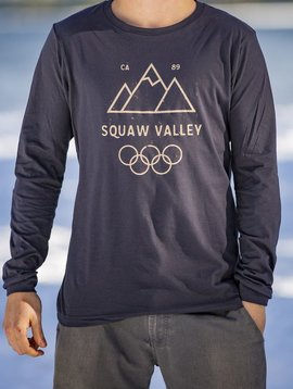 California 89 Men's long sleeve Squaw Valley tshirt