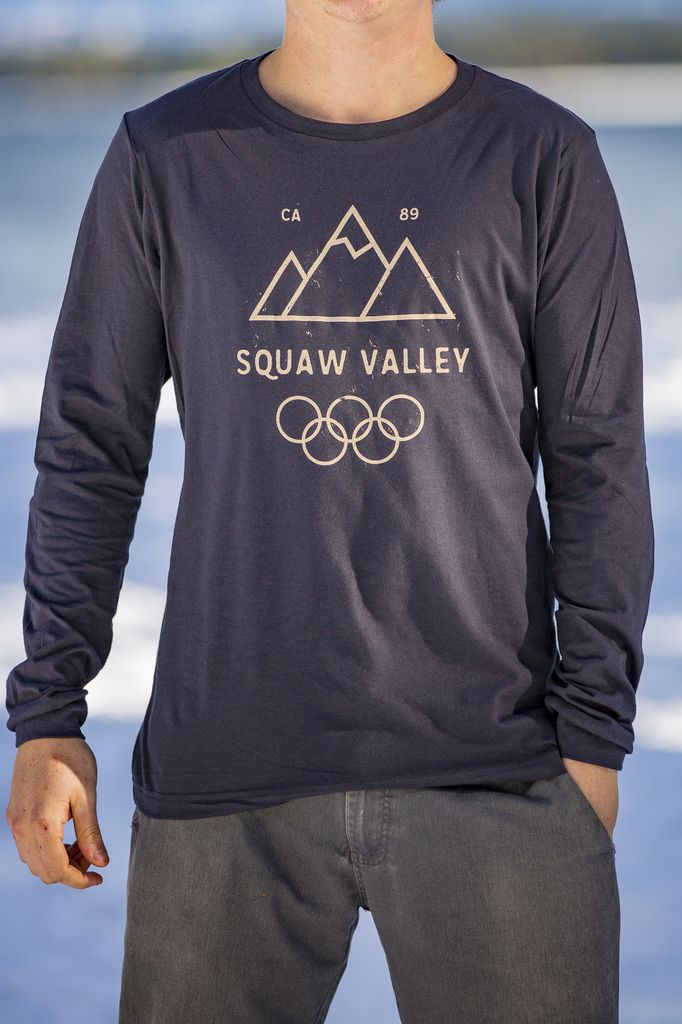 California 89 Squaw Valley Men's Long Sleeve Tee