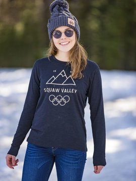 California 89 Squaw Valley Women's Long Sleeve Tee