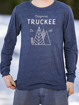 California 89 Men's Long Sleeve Truckee Tee
