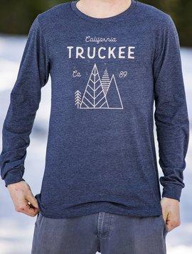 California 89 Men's long sleeve Truckee tshirt