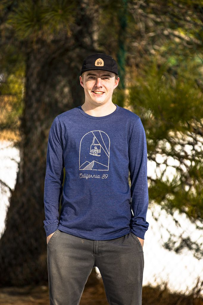 California 89 Men's Long Sleeve Chairlift Tee
