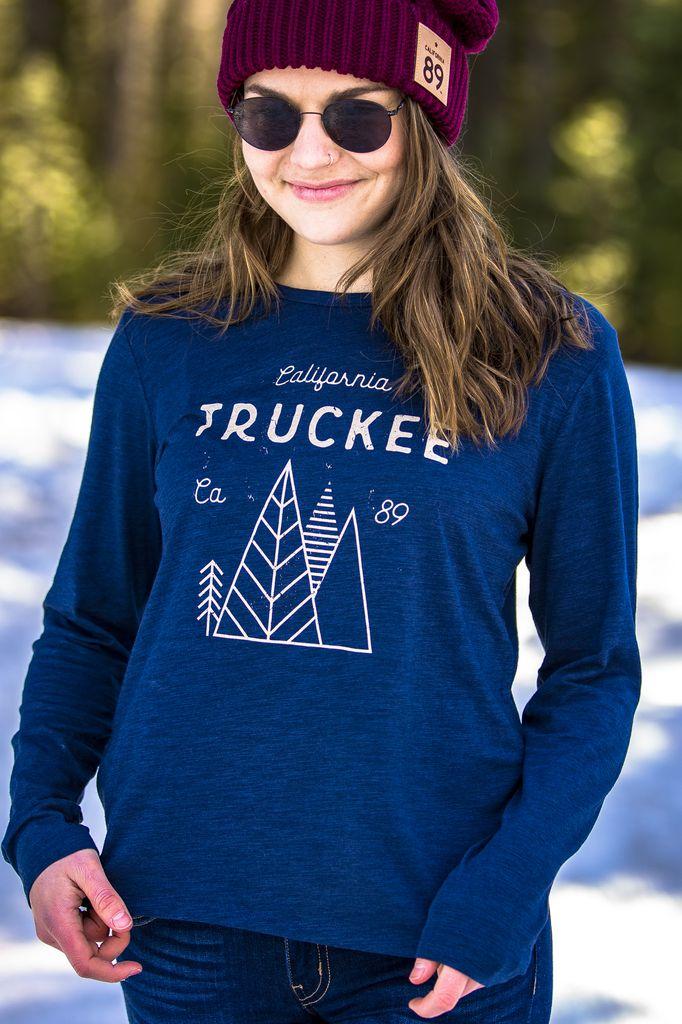 California 89 Women's Long Sleeve Truckee Tee