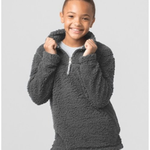 California 89 Kid's Sherpa 1/4 Zip Pullover