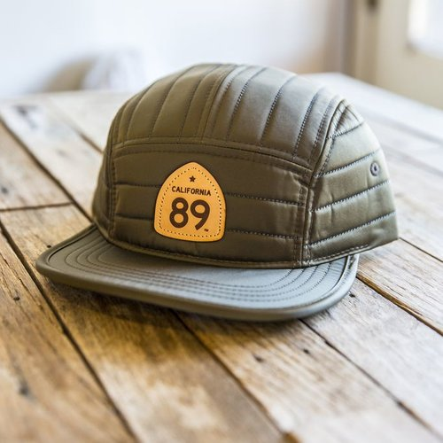 California 89 Quilted Nylon Strapback Hat