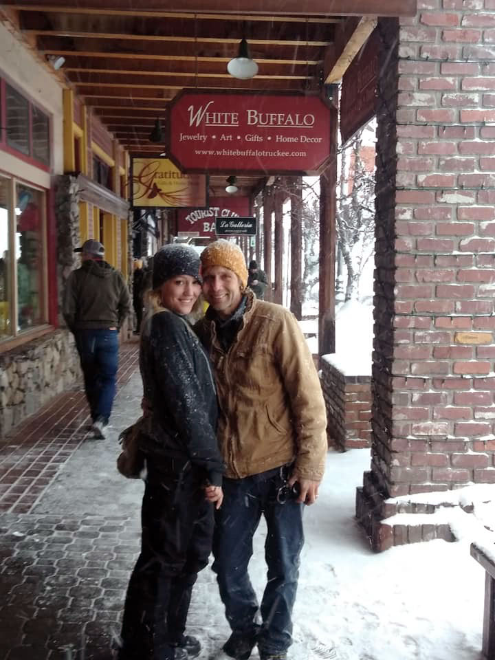 Walking in Downtown Truckee