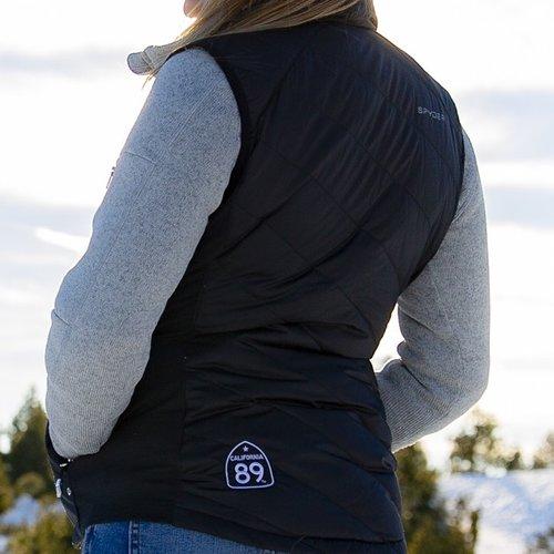 California 89 Women's Spyder Solitude Down Vest
