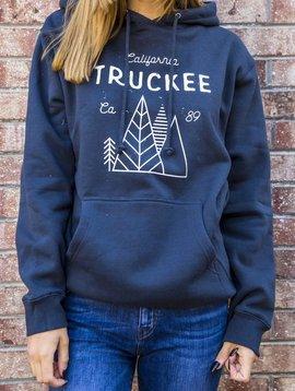 California 89 Unisex Hooded Sweatshirt with Truckee on Front