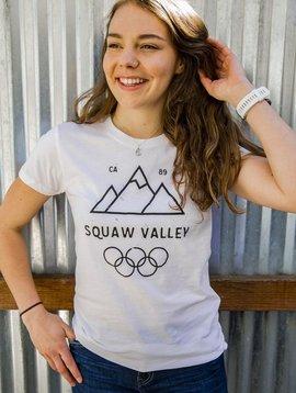 California 89 Women's short sleeve Squaw Valley tshirt