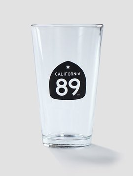 California 89 Beer Pint Glass