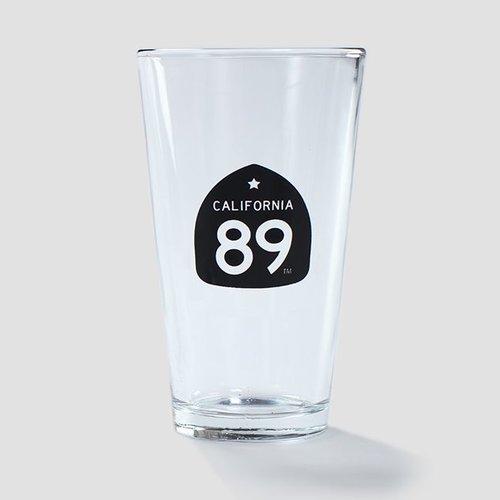 California 89 CA89 Pint Glass