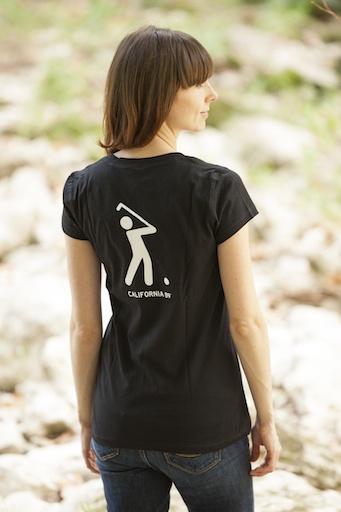 California 89 Golf Women's V-Neck Tee