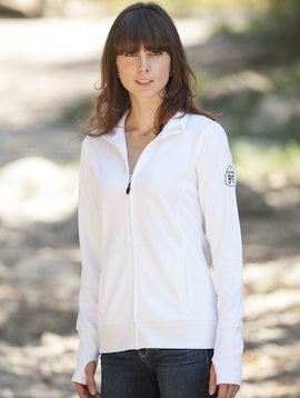 California 89 Women's Zip Jacket Shield on Left Sleeve